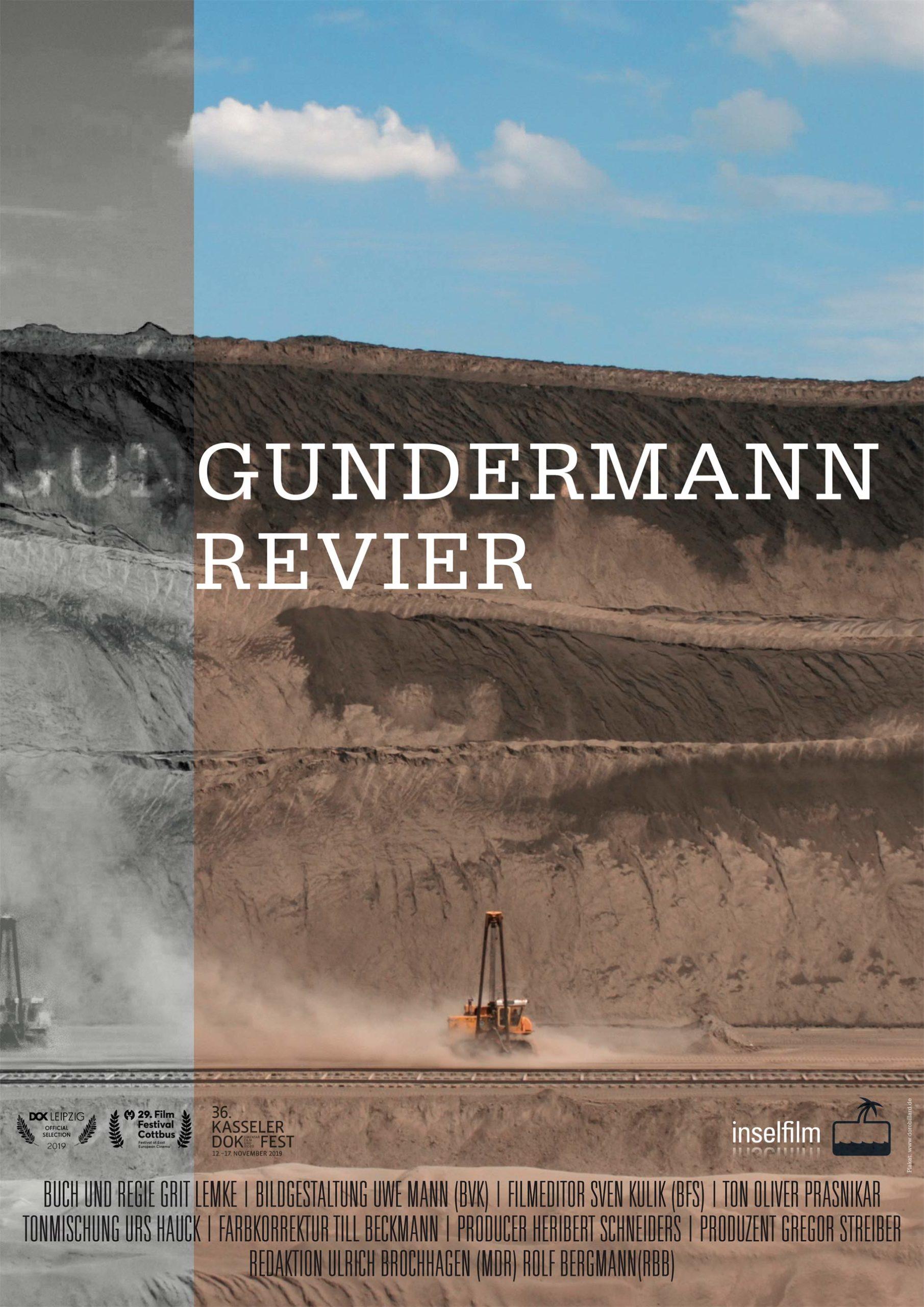 Gundermann Revier - Dokumentarfilm 2019, Plakat